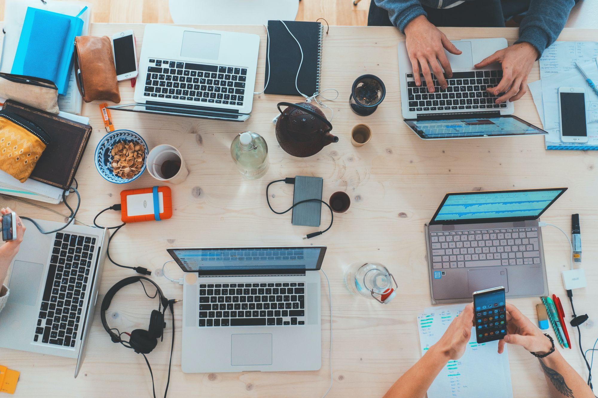 Routine work inside organization
